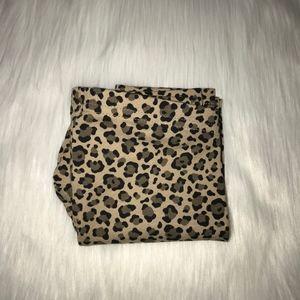 NWT jumping beans leopard print legging size 3T 4T